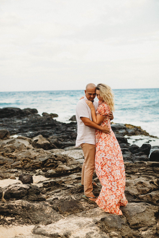 Makapu'u Beach Park Engagement Photography Session - Oahu Hawaii Wedding Photographer