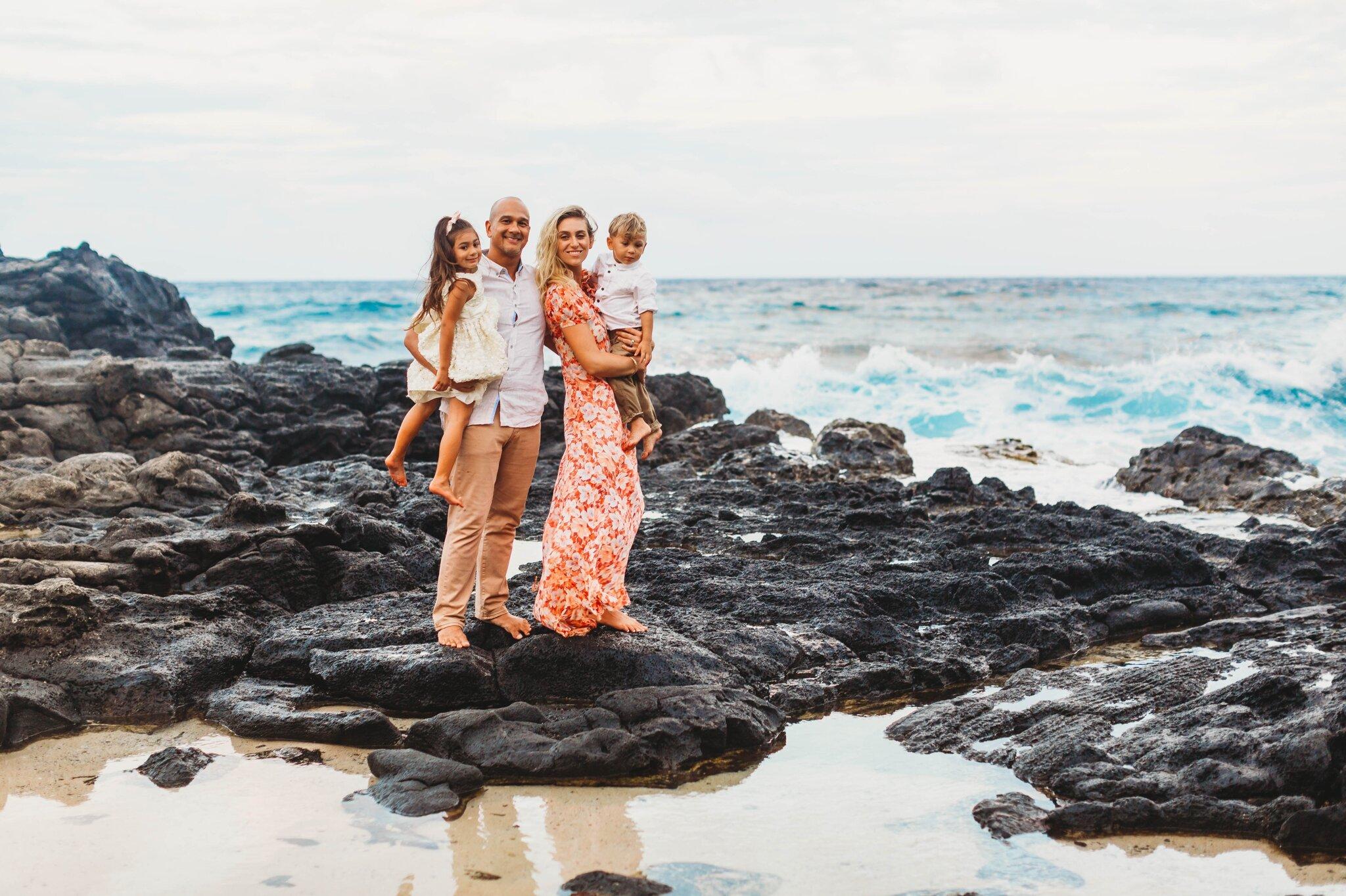 Makapu'u Beach Park Family Photography Session - Oahu Hawaii Photographer