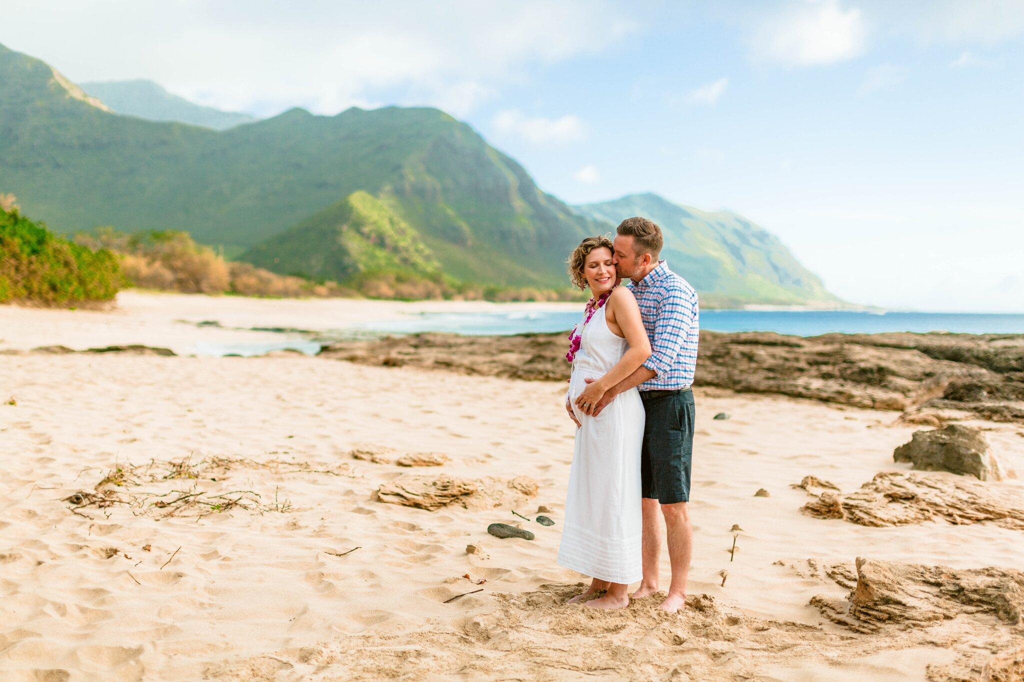 At Makua Beach Oahu Aulani Hawaii