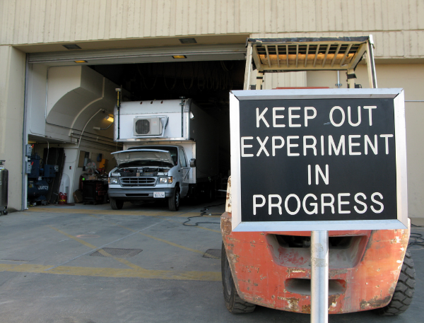Image Credit:  Keep Out Experiment In Progress  by  Steve Jurvetson  via  CC by 2.0