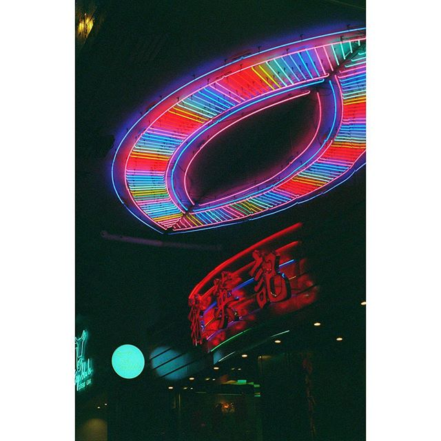 This week focusing on #neon 💡  #35mmdiaries is a #film #photography #documentary about life -  Shot on #leicam6 with #venus800  #nightcrawler #night #hk #neon #80 #food #signs #analogphotography #filmgrain #filmphotography #leica #summicron50mm #vespapx200 #explore #asia #red #colours #superiavenus800 #onabags