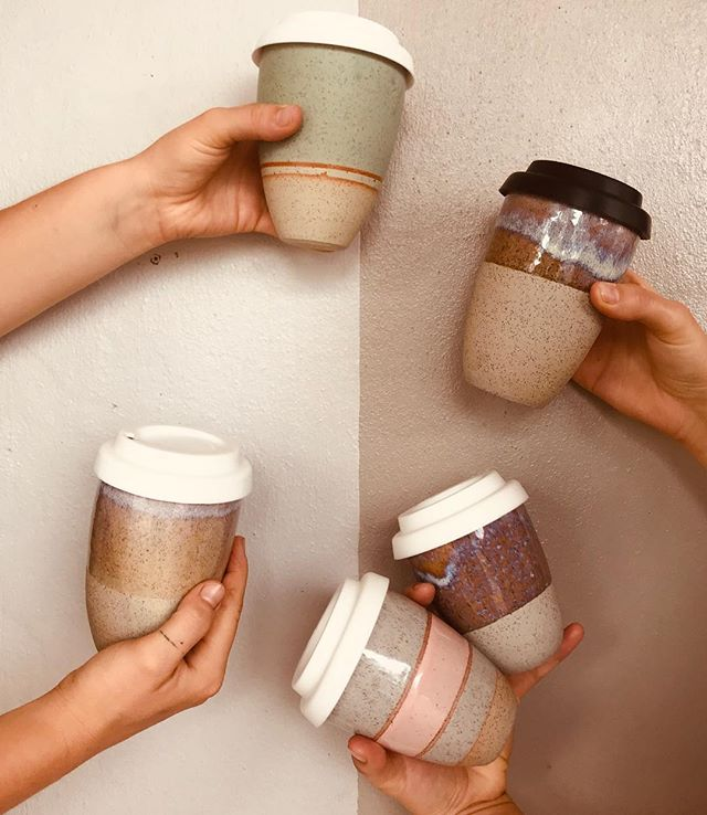 @pinched___  ceramic keep cups are back and more beautiful than ever!  Come in and grab a brew and pick your fav before they all run out! 😍  #brunswickheads #keepcup #coffee