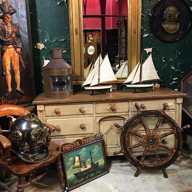 Just a little bit nautical. ⚓️⛵️ #lancelothillantiques #southernhighlands #antiques #collectibles #nautical #ahoy
