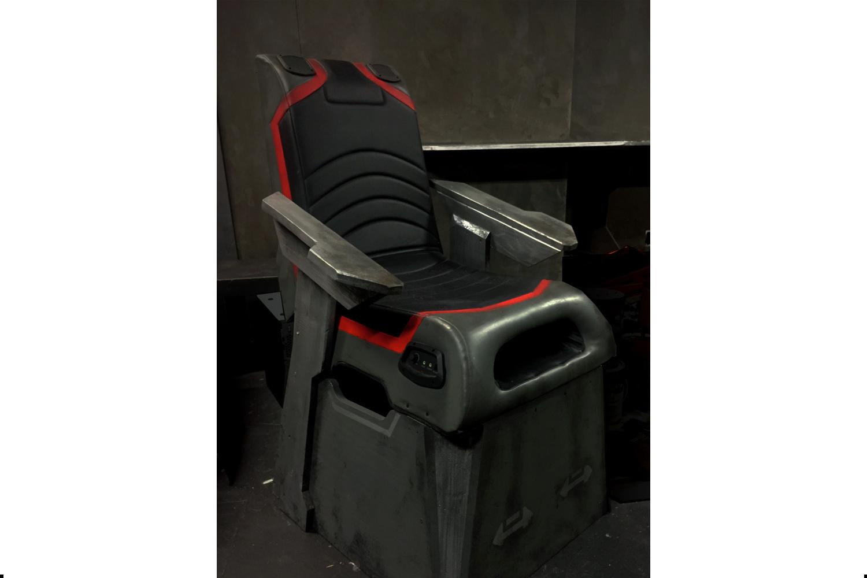 Gravity Restraint Chair