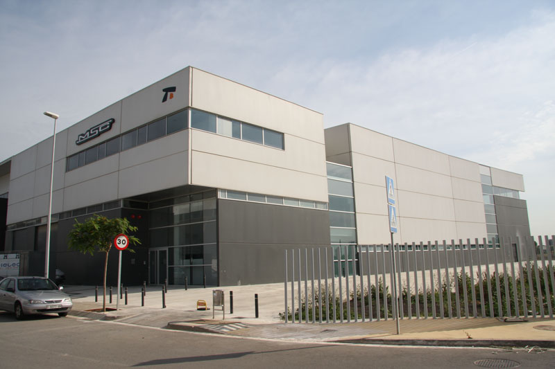 MSC Bikes Headquarters. Gavá, Spain