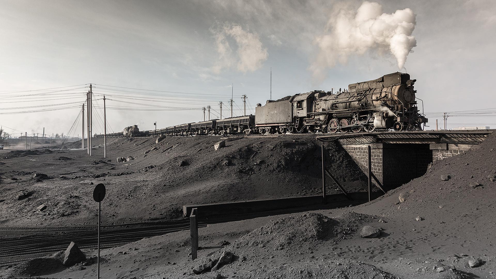 Auf dem Weg zur Kohlenwäsche