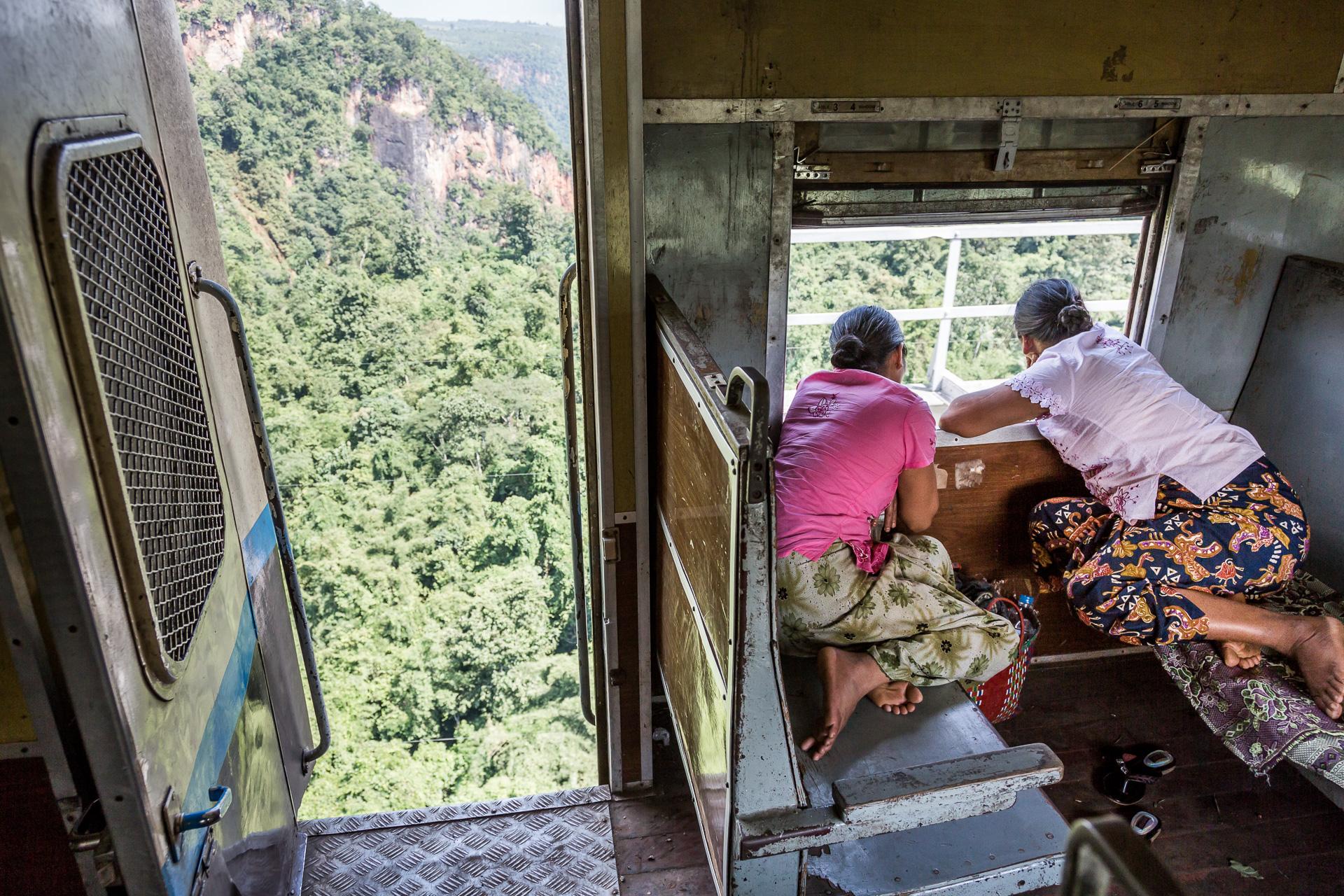 atemberaubender Ausblick für mutige Passagiere
