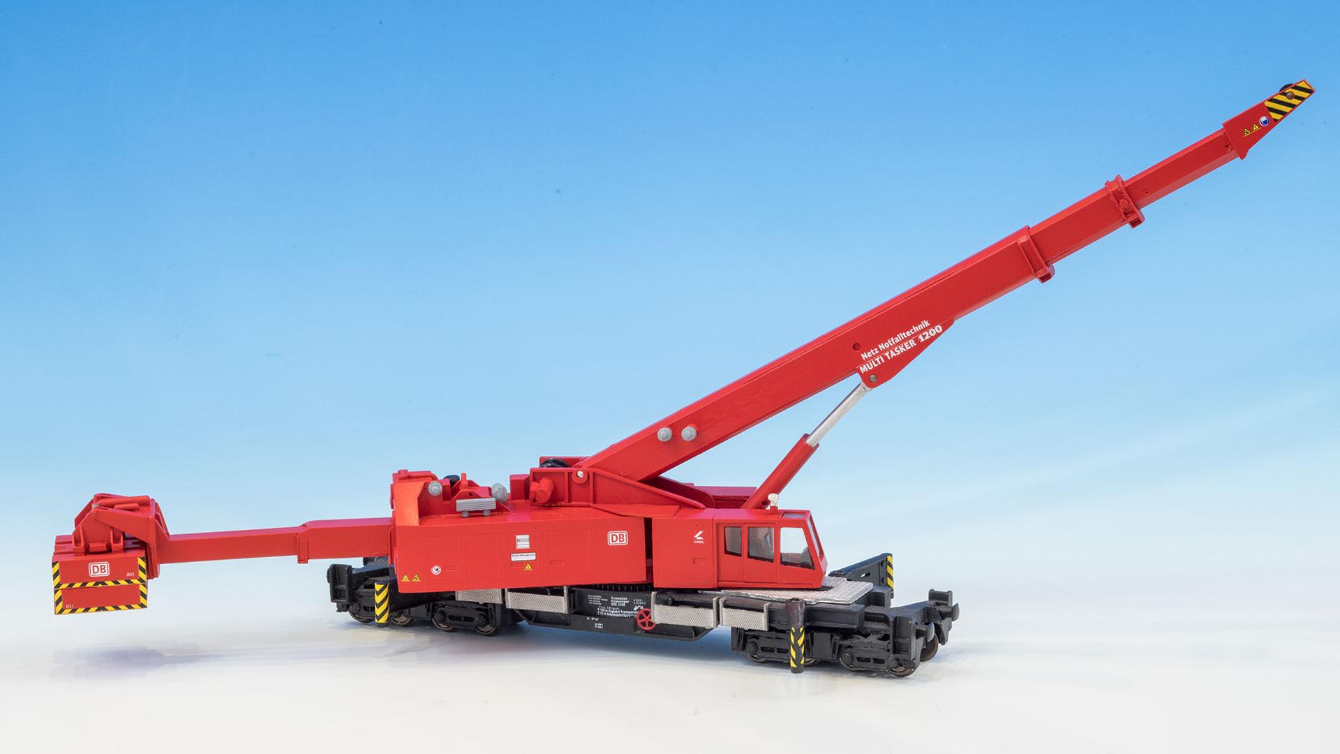 ein imposantes Modell: der Kirow-Kran KRC 1200 von Kleinspoor in H0