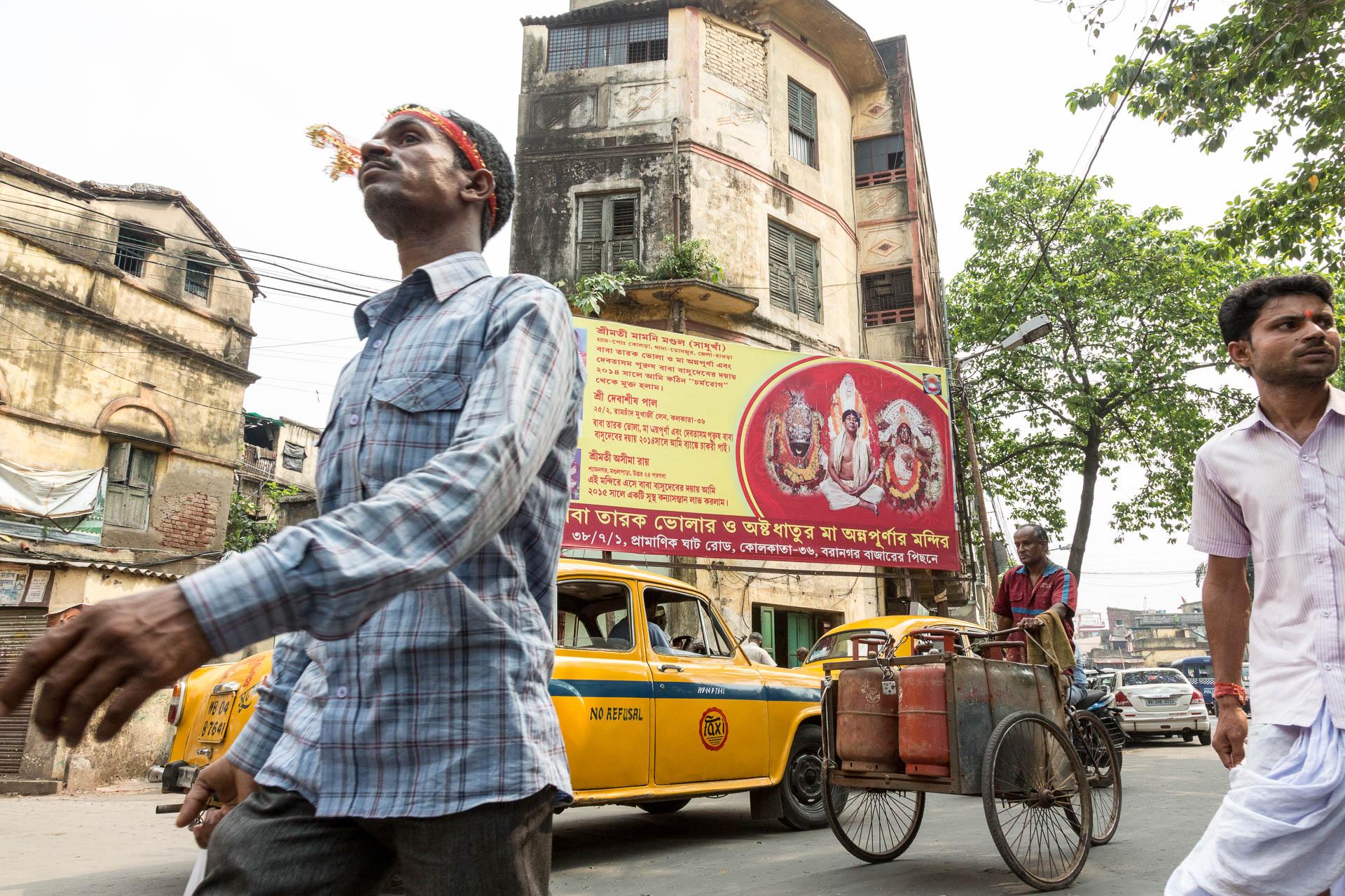 Strassenszene Kolkata