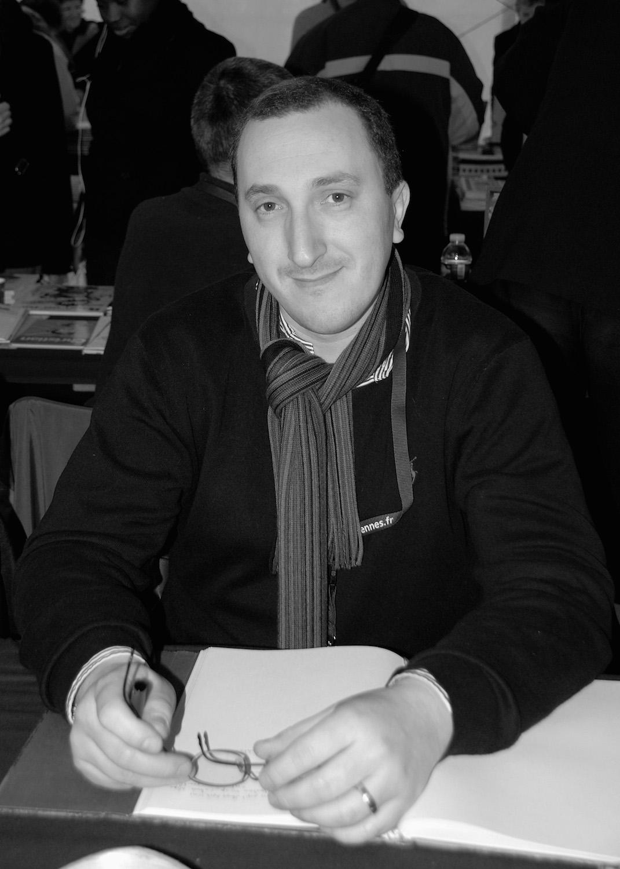 Award-winning thriller writer David Khara