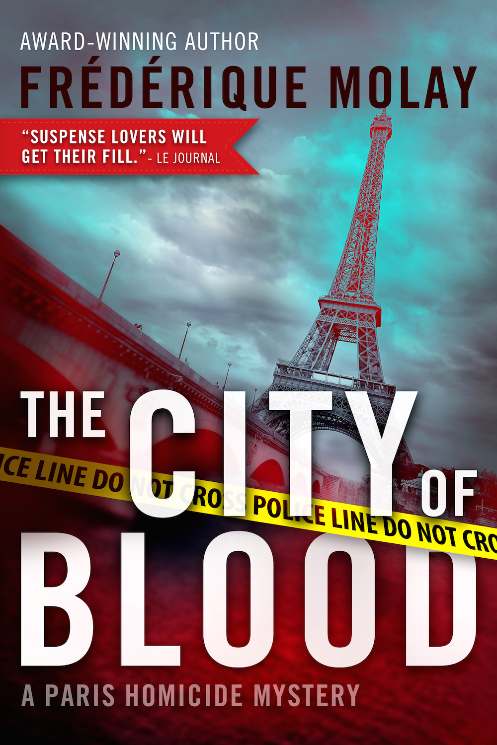 The new Paris Homicide mystery.