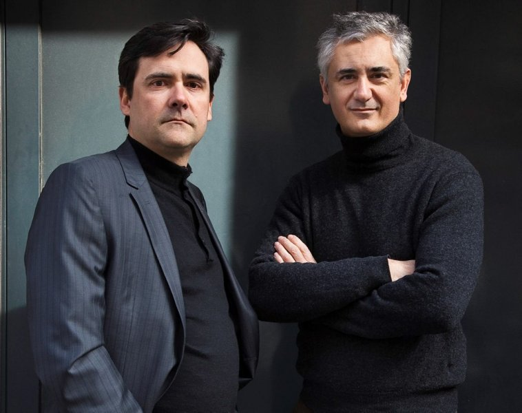 Best-selling thriller writers Jacques Ravenne and Eric Giacometti