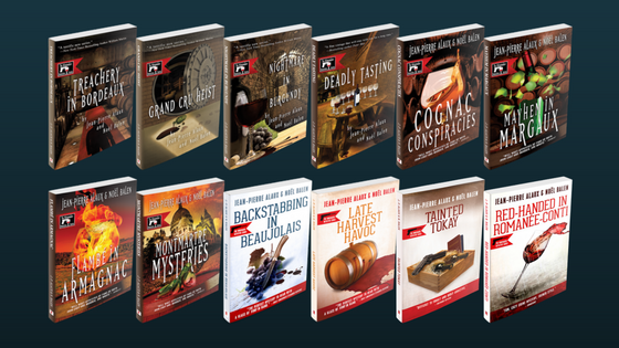 CLICK TO DISCOVER OR BUY THE WHOLE WINEMAKER DETECTIVE SERIES