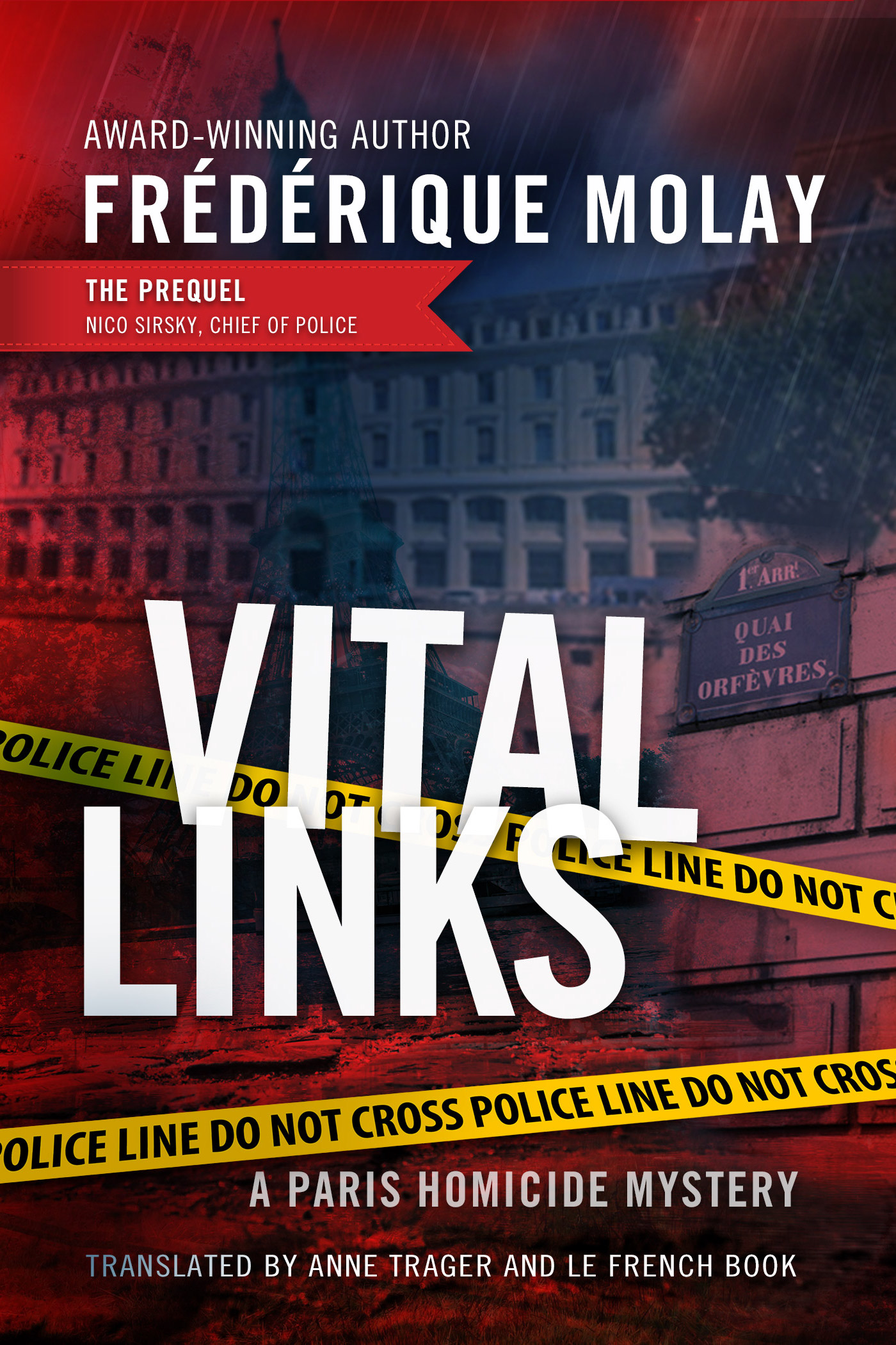 Gritty police procedural mystery novel set in Paris.