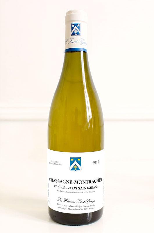 Chassagne Montrachet Premier Cru  « Clos Saint-Jean »