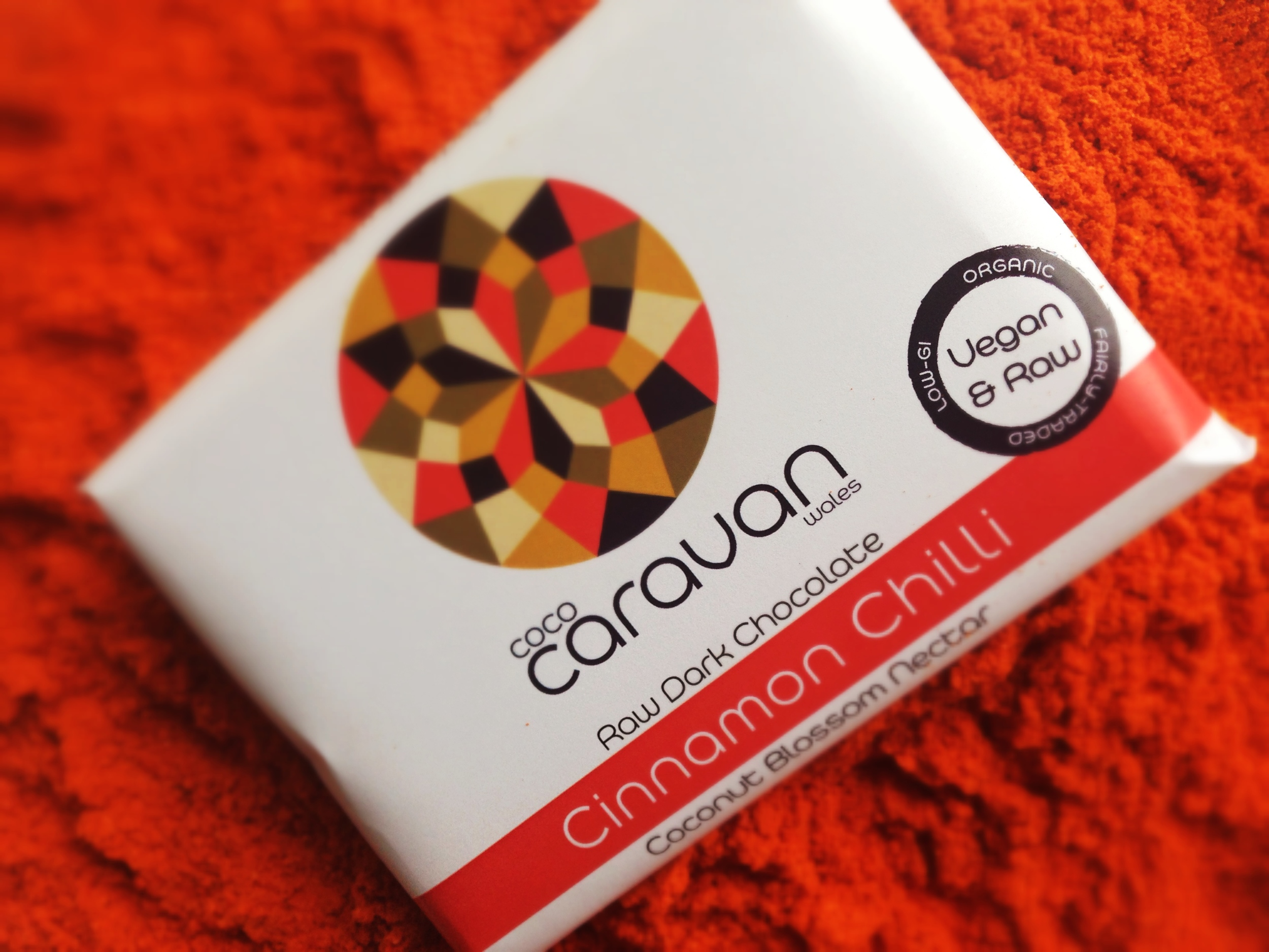 Cinnamon and Chilli Raw Chocolate