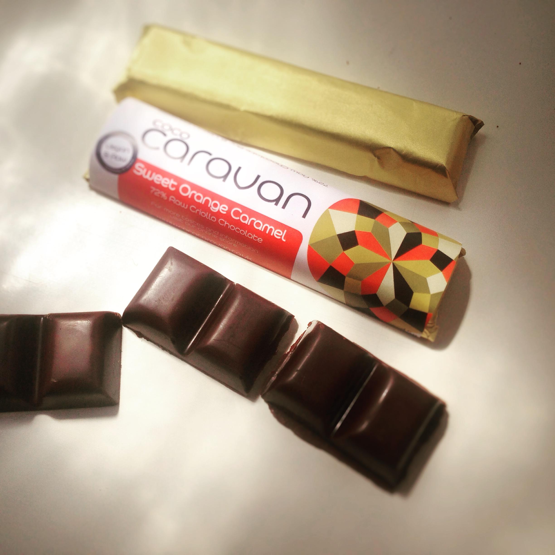 Orange and Caramel Raw Chocolate - Great Taste Winner