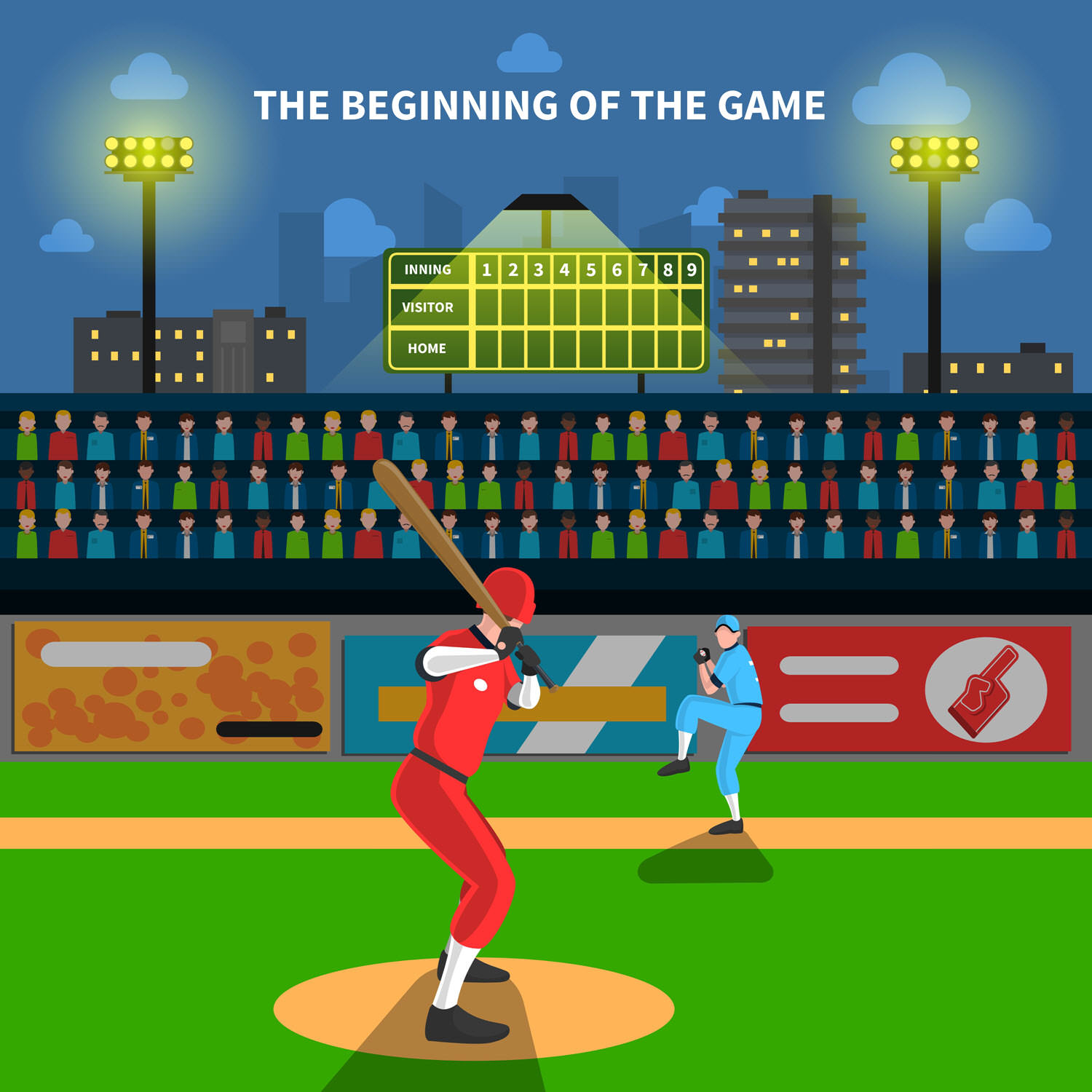Memorize flashcards by listening to an mp3 at a baseball game.