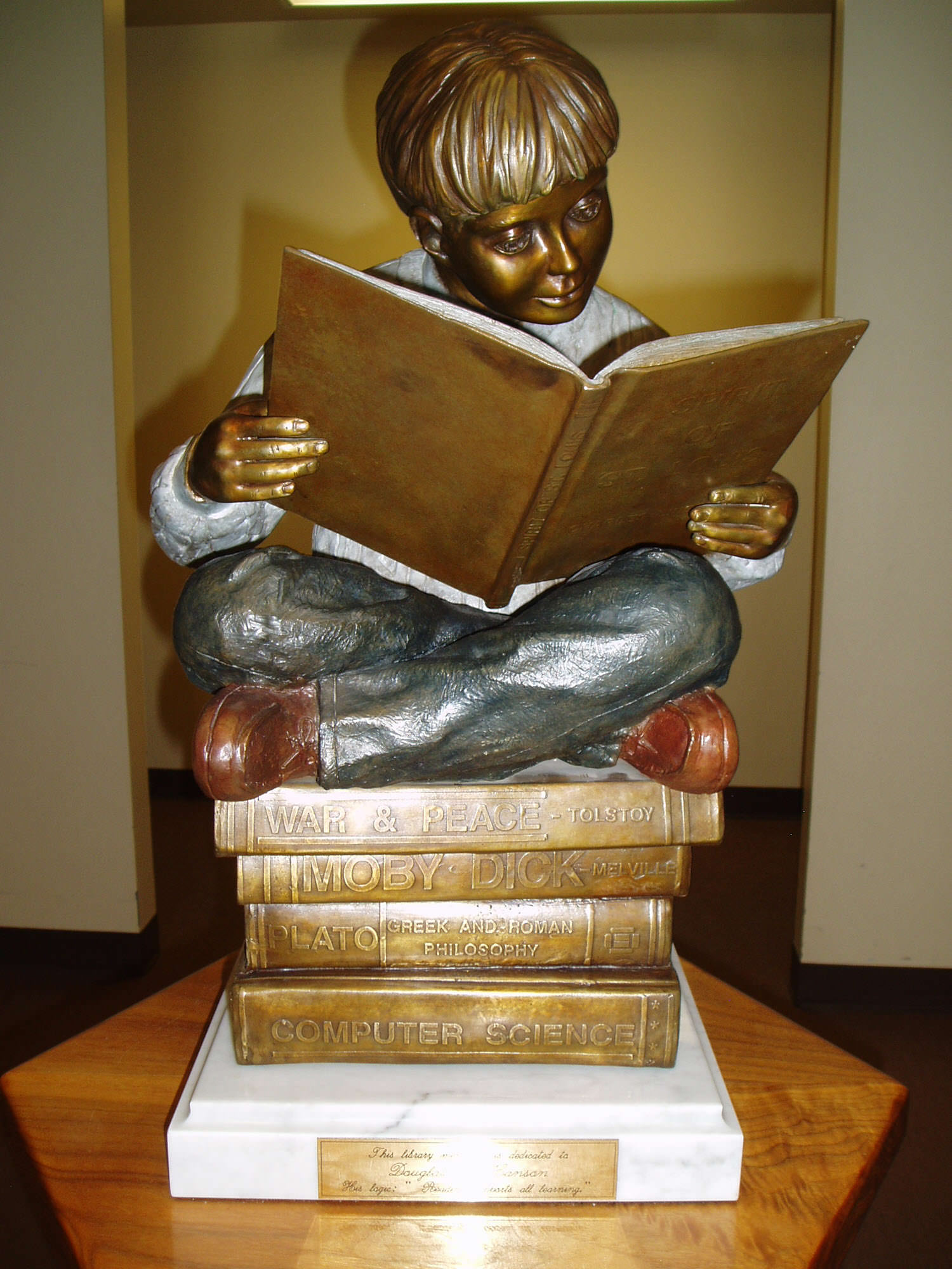 """""""reading supports all learning"""" North Lake County Public Library Polson, Montana"""
