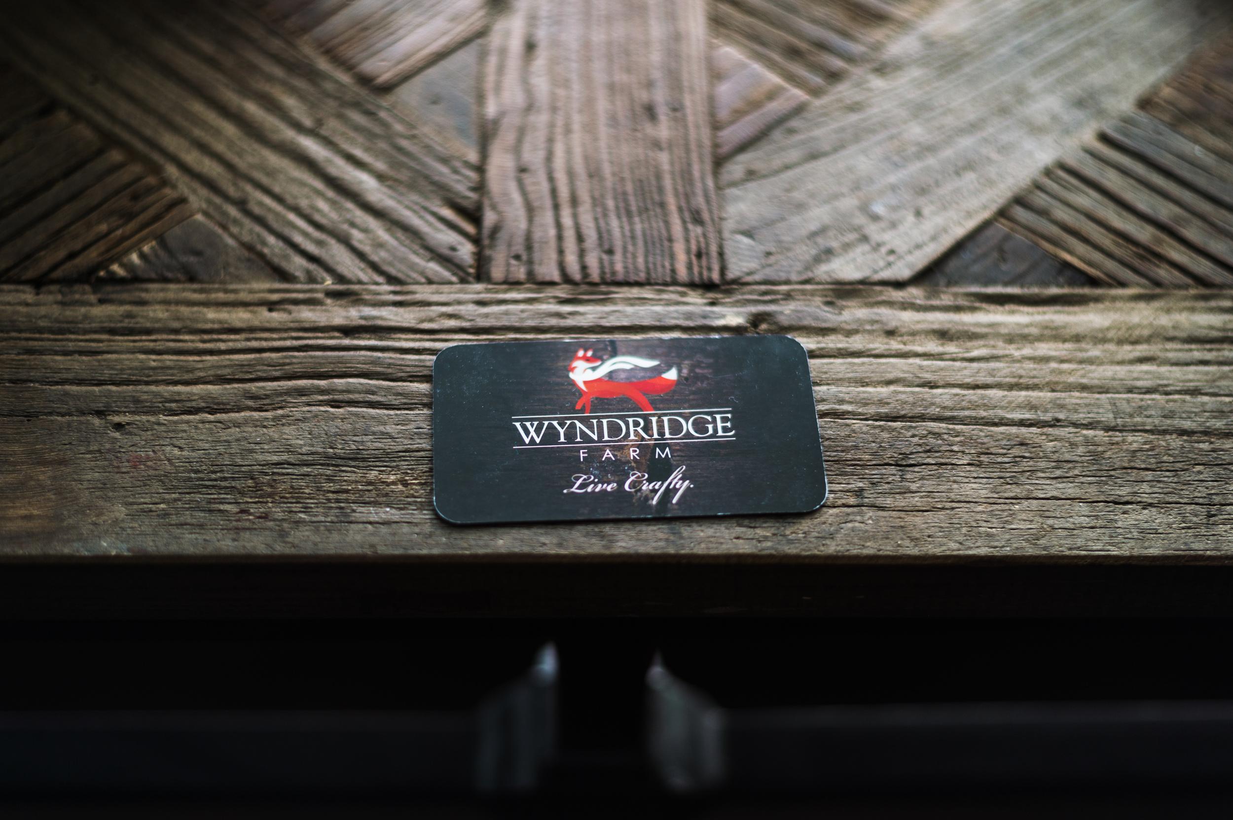 wyndridge farm card