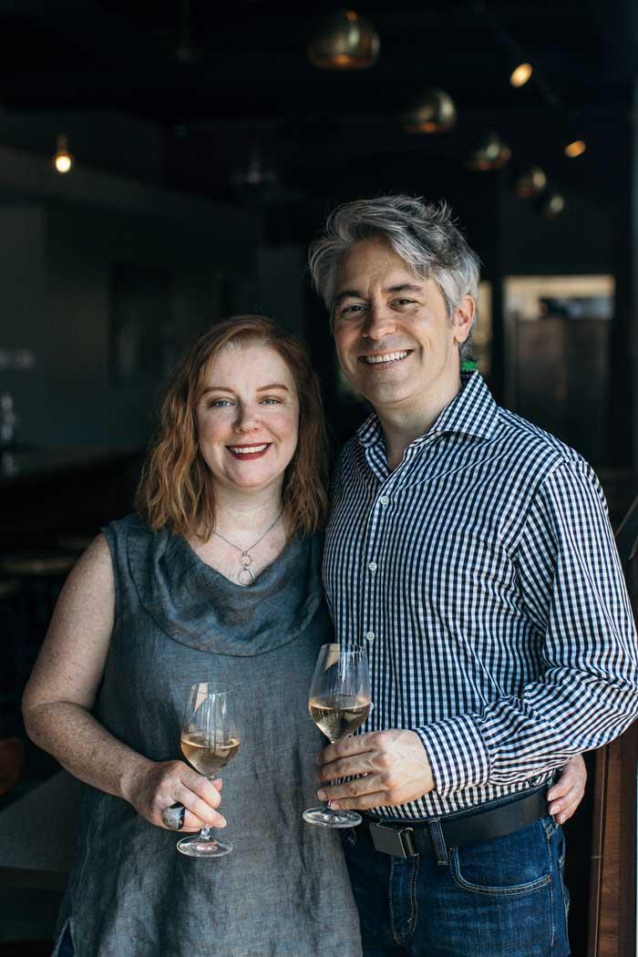 Julia Battaglini and Dave Martin