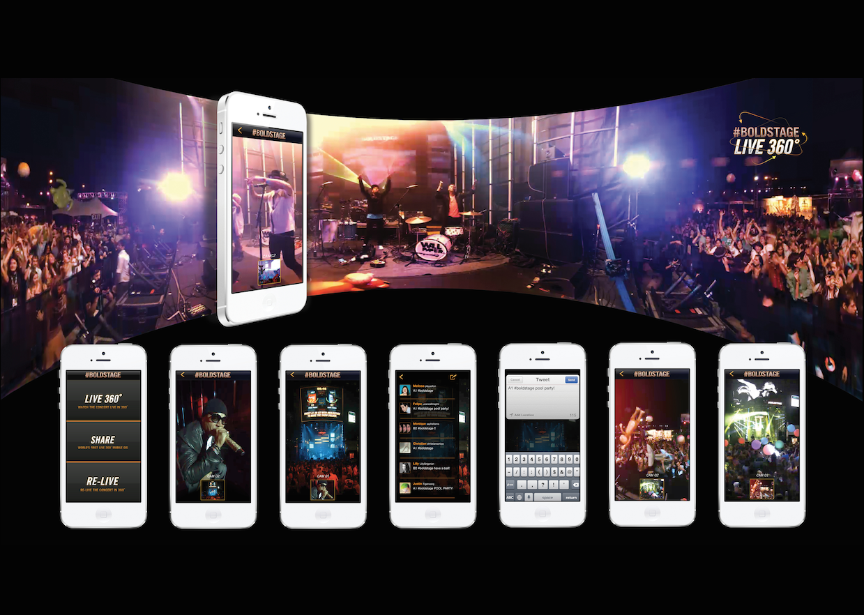 Doritos. World's First Live 360° Mobile Concert