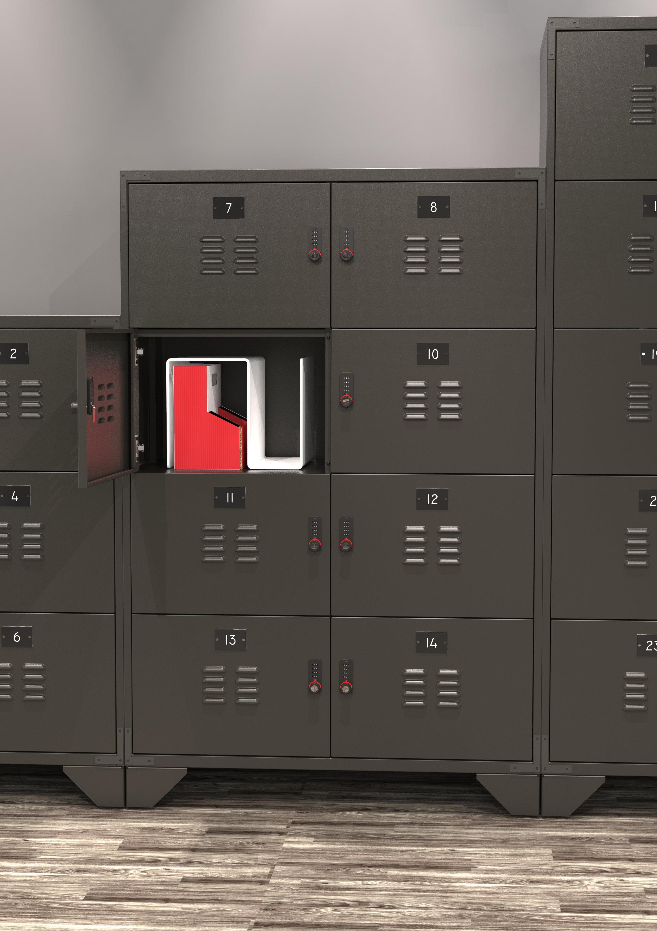 Vintage Retro Locker