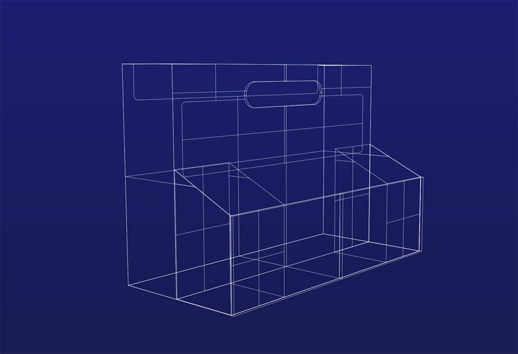 Lockerbox Wireframe
