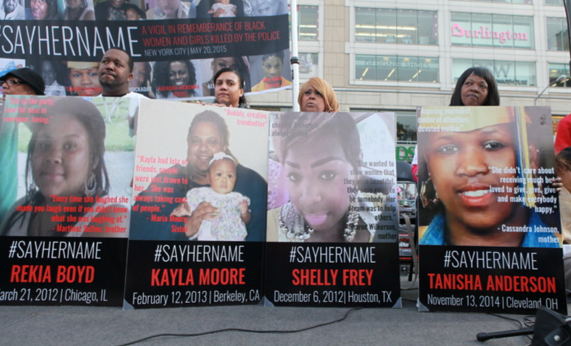 """""""#SayHerName: Why We Should Declare That Black Women And Girls Matter, Too,"""" huffington post, 5/21/15"""
