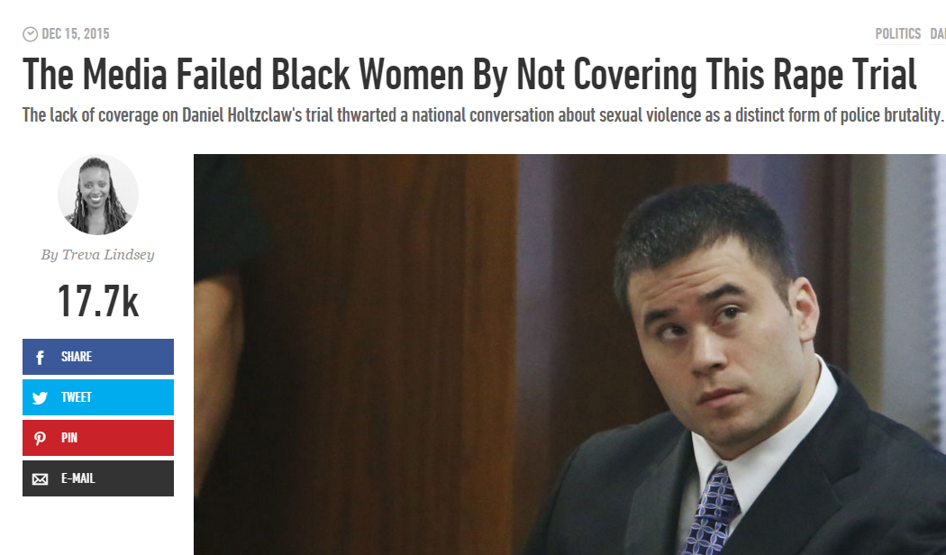 The Media Failed Black Women By Not Covering This Rape Trial, Cosmopolitan, 12/15/15