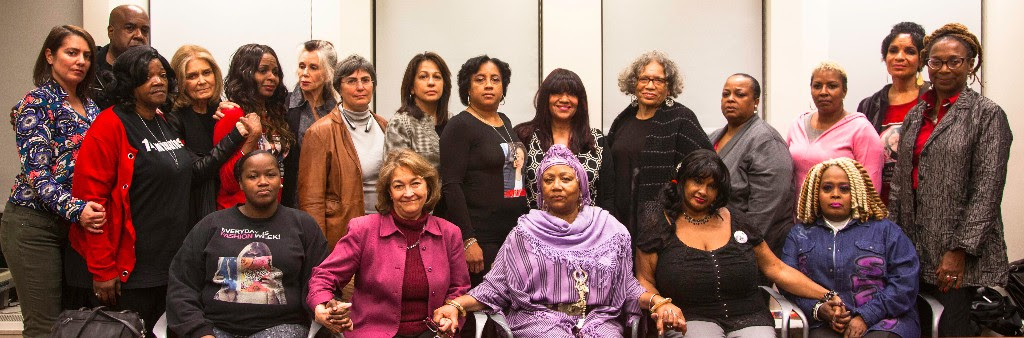 Family members of Black women who have been killed by the police join together with leading feminist leaders during AAPF's #SayHerName Weekend in NYC, November 18-21 2016