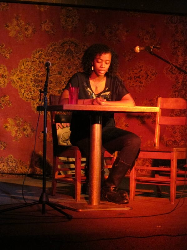 Reading from what would eventually become  The Turner House  at Talk Art. Iowa City,2011.