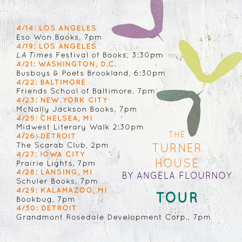 The Turner House Tour Dates