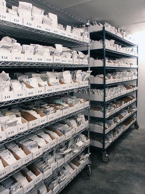 Seed Storage at Seed Savers Exchange