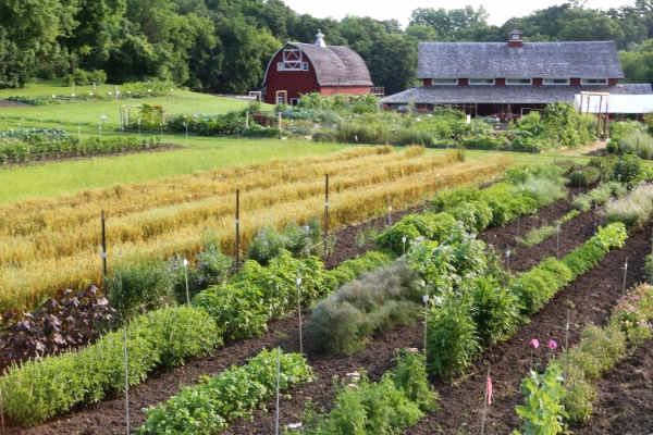 Seed Savers Exchange's Heritage Farm in Decorah, IA - home to the Robert Becker Memorial Library.