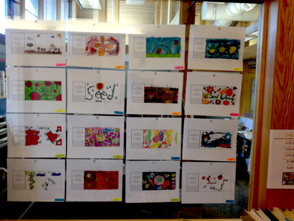 Incorporating Art into COmmunity Seed (Photo Courtesy of Jeff Quattrone)