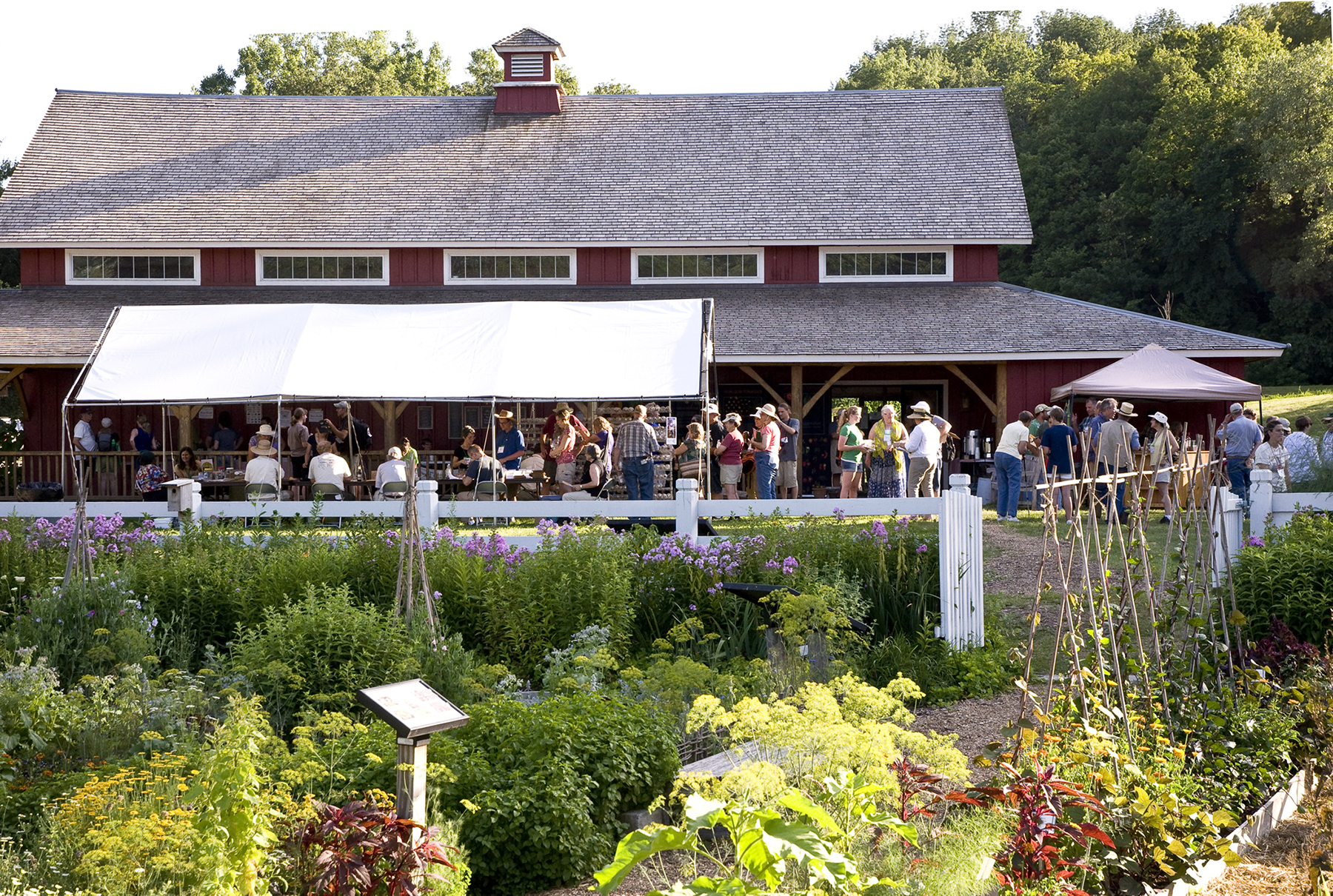 The annual Conference & Campout will be hosted by Seed Savers Exchange July 15-17, 2016.
