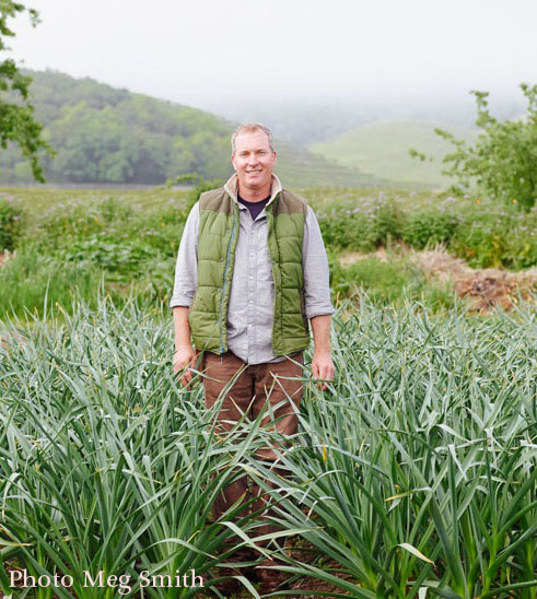 Aaron Keefer is the Head Culinary Gardener for Chef Thomas Keller's three-acre garden across the street from The French Laundry in Yountville, California.