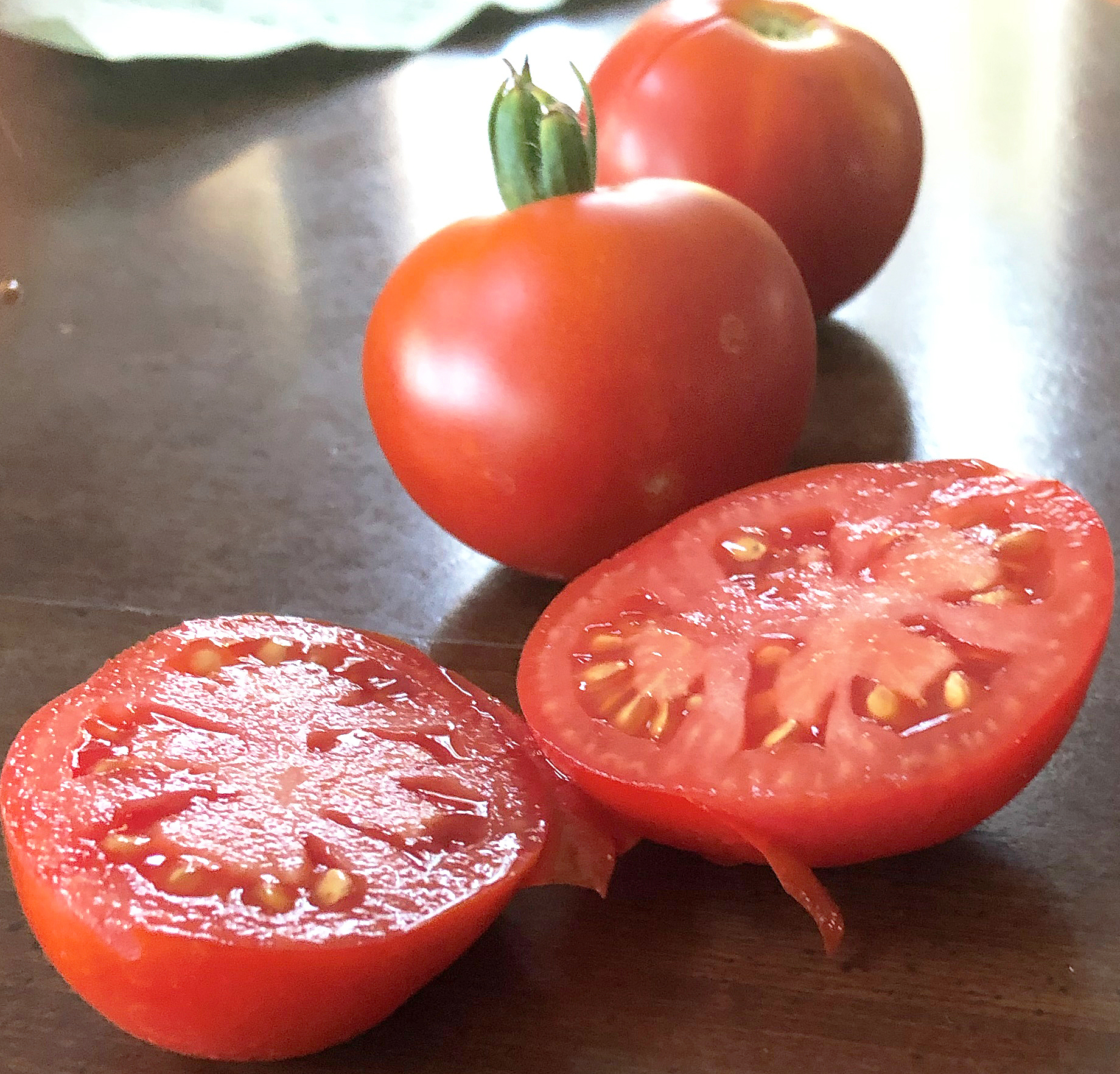 'German Extreme Dwarf Bush' tomatoes, grown by  Liz and Talus Piatkowski.