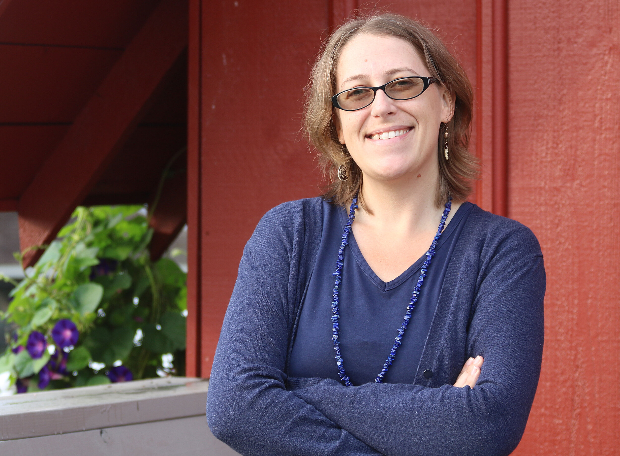Emily Rose Haga assumed responsibilities as executive director of Seed Savers Exchange on September 16.