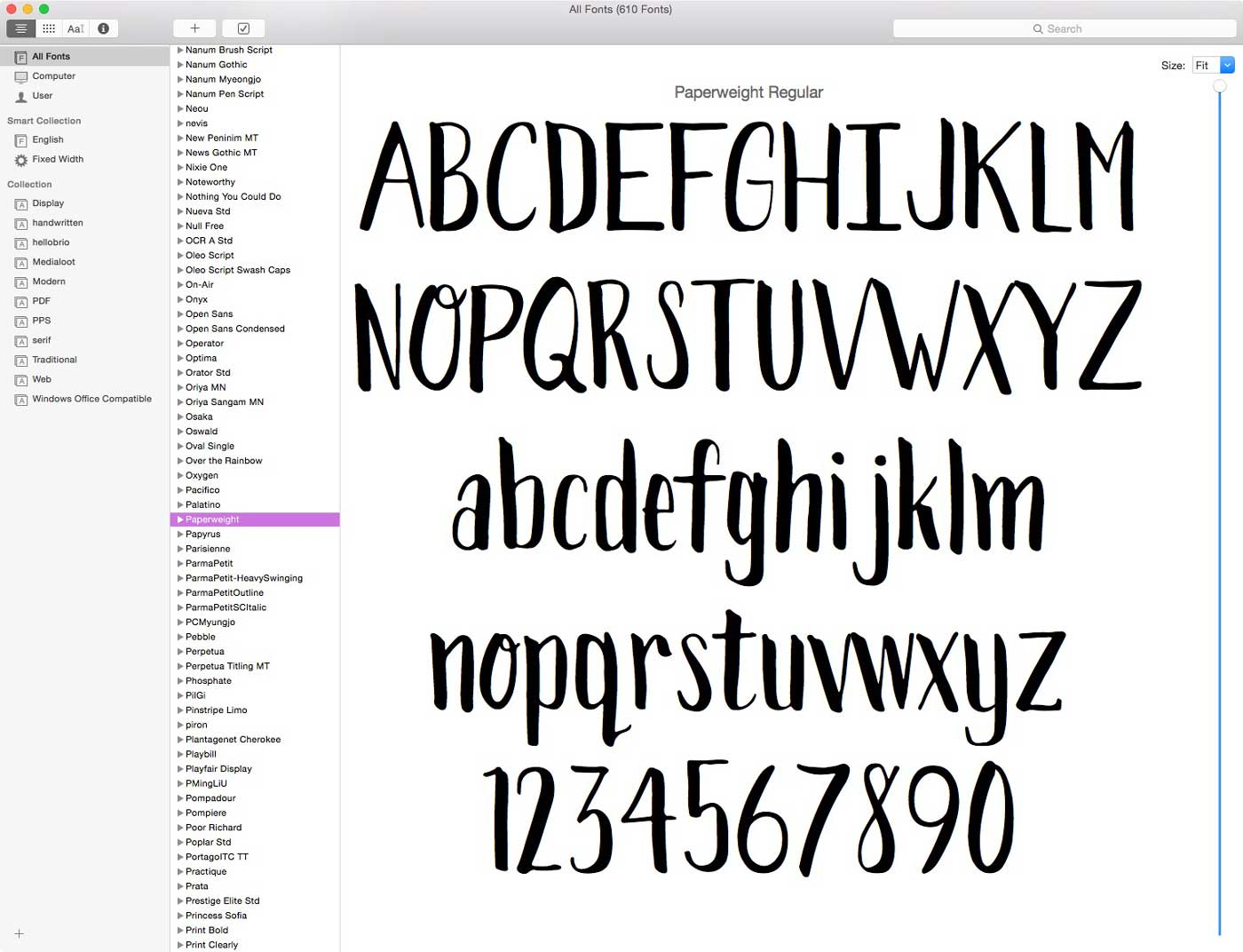 Congrats you've now made your own very own font