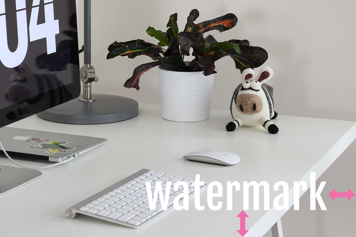Use a healthy margin for watermarks so that people aren't as tempted to crop out your watermark