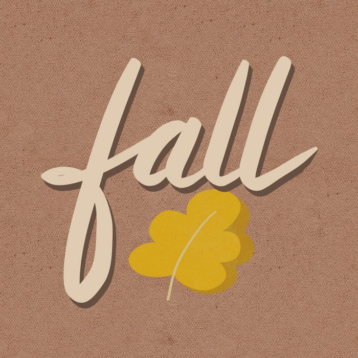 Fall doodle - Illustrator and Hand Lettering Tutorial: Brush Calligraphy Using a Wacom Tablet - HelloBrio.com