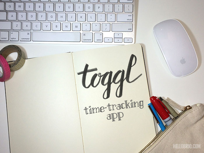 Toggl is a great productivity tool and time-tracking app for freelance graphic designers - HelloBrio.com