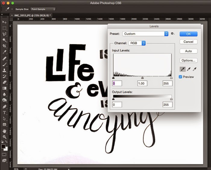 How to digitize your hand lettering using Illustrator's
