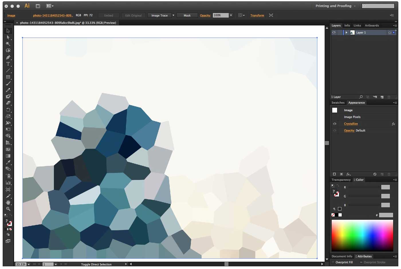 Easily create a color palette in Illustrator from a ...
