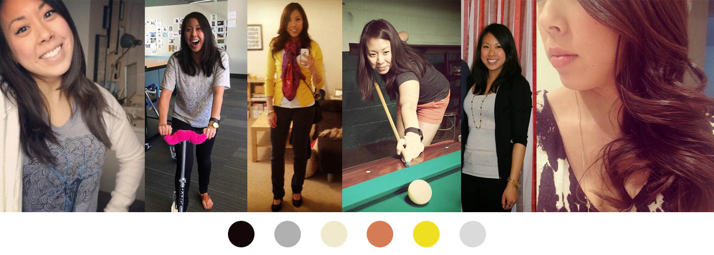 Choosing a personal color palette - look at your closet first