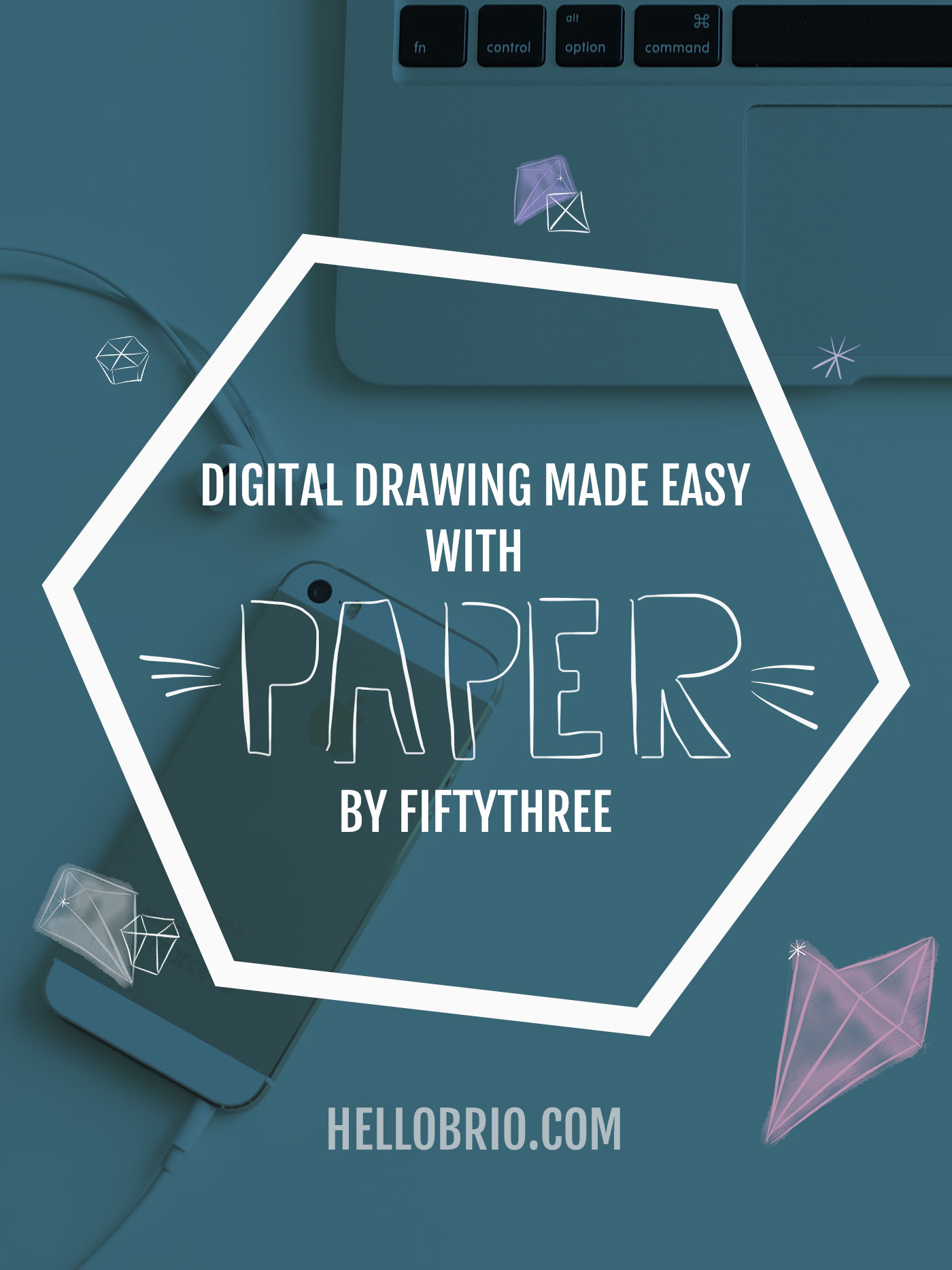 Digital drawing made easy with Paper by FiftyThree