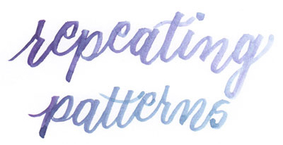 Learn how to create repeating patterns