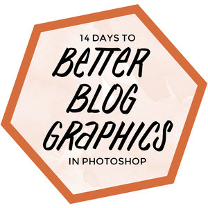 14 days to better blog graphics in Photoshop - course on HelloBrio.com